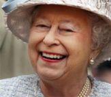 A happy Queen