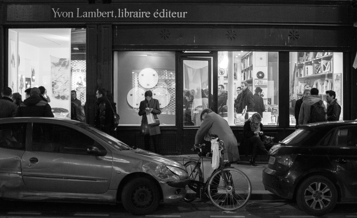 Yvon Lambert Bookstore Paris