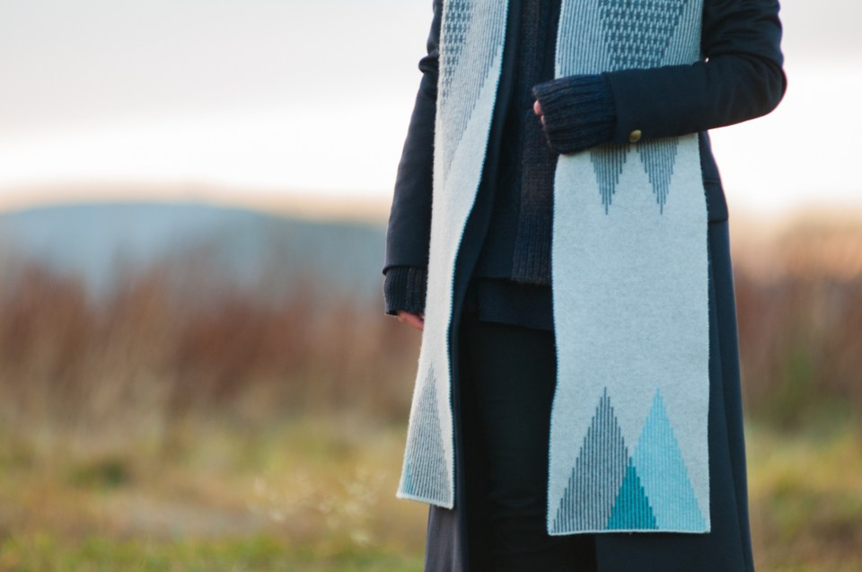 Hilary Grant Wool Scarf Photograph by Iona Spence