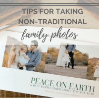 Tips for Non-Traditional Holiday Family Photos