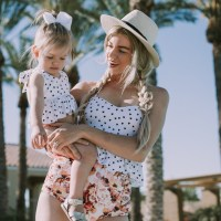 Mommy and Me Swimsuits + a Kortni Jeane Giveaway