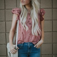 Five Ruffle Sleeve Tops You Need in Your Closet