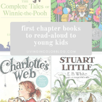 First Chapter Books for Reading Aloud to Young Kids