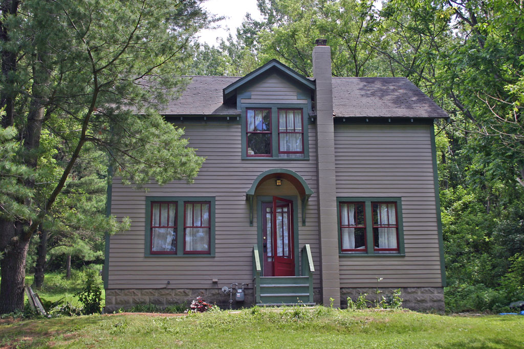 Living In Dryden Exterior Painting Completed
