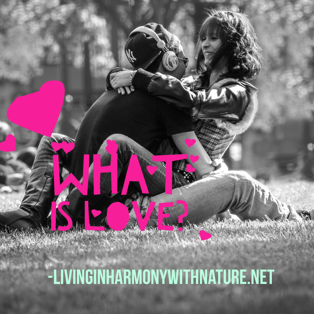 what is love - living in harmony with Nature