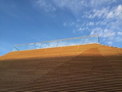 Sauna roof top terrace