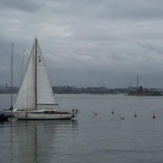 Sailing boat Suomenlinna