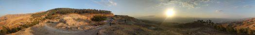 Panorama View of the Jordan Valley