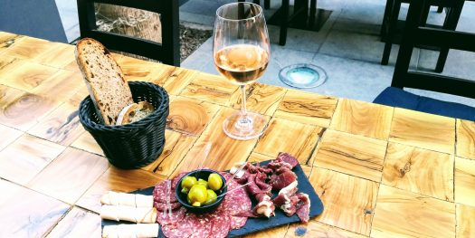 Wine and Colc Meat Platter at JR Win Experience Amman