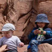 Brothers in Petra