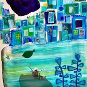 Nissa Raad - Painting