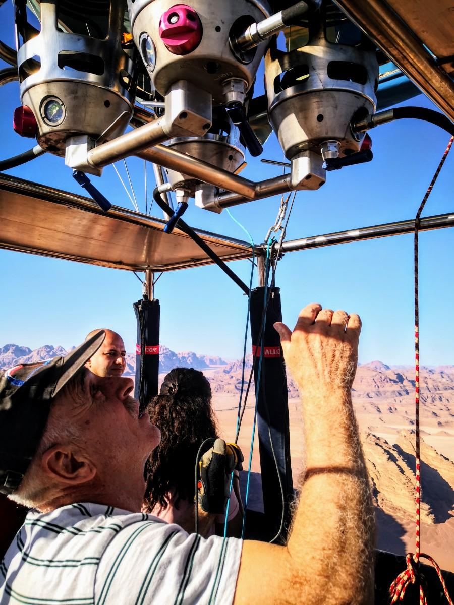 Hot Air Balloon Wadi Rum - Captain Khaled