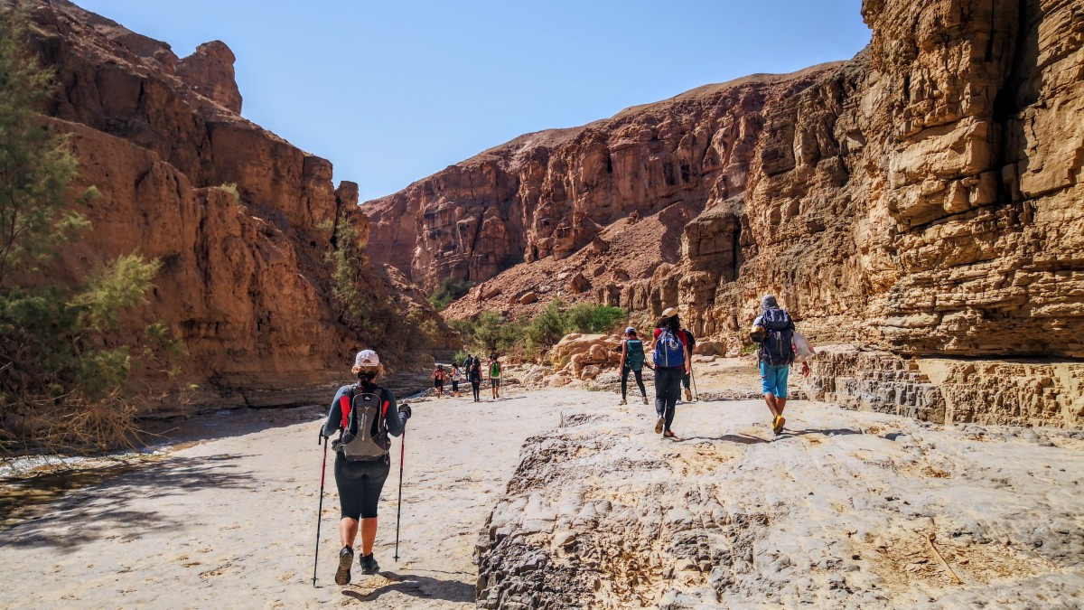 Hiking Wadi Assal