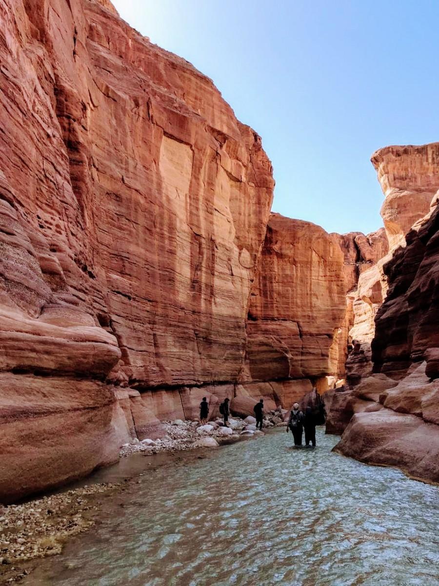 Views at Wadi Al-Hasa
