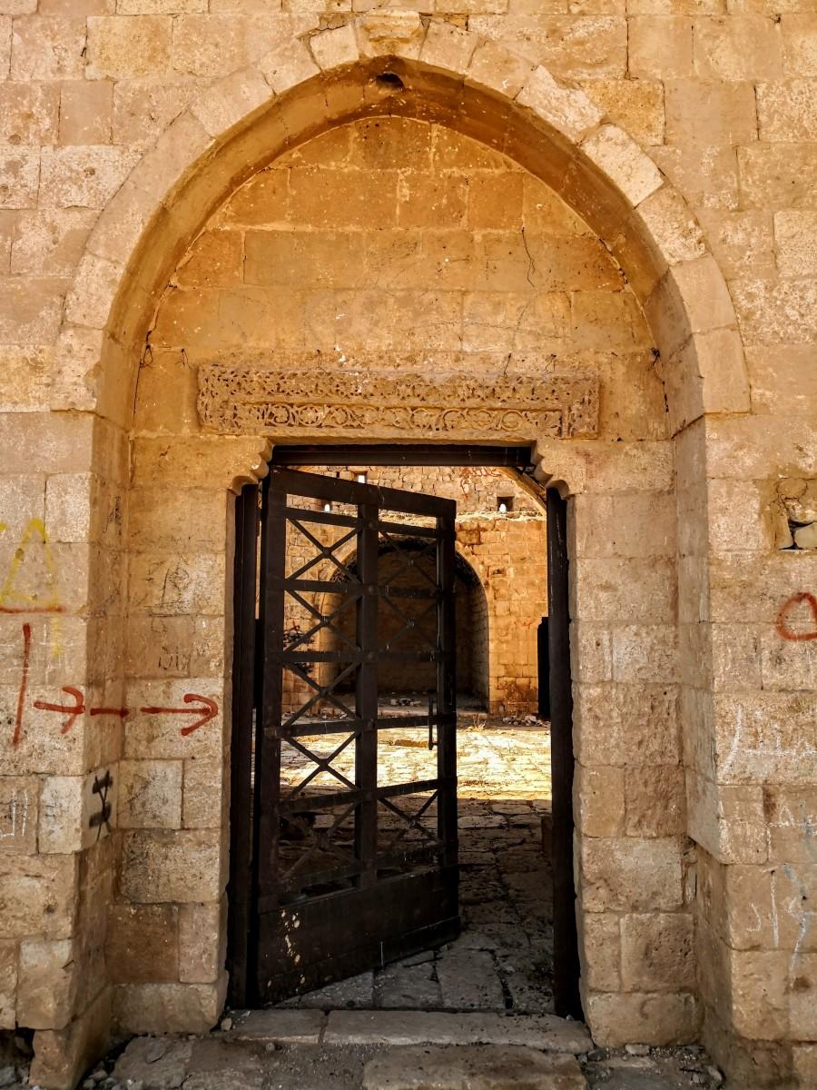 Qasr Al-Dab'ah - Front Door