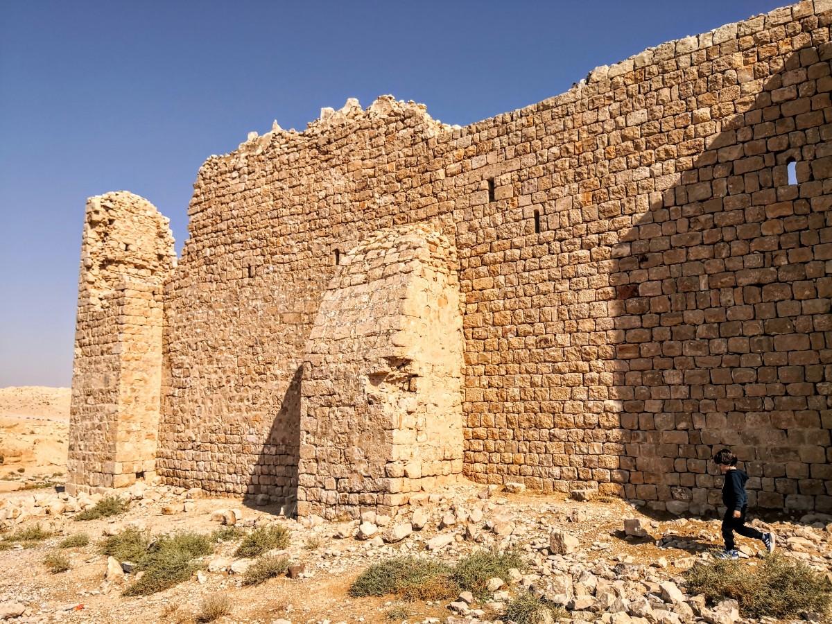 Qasr Al-Dab'ah - Walls