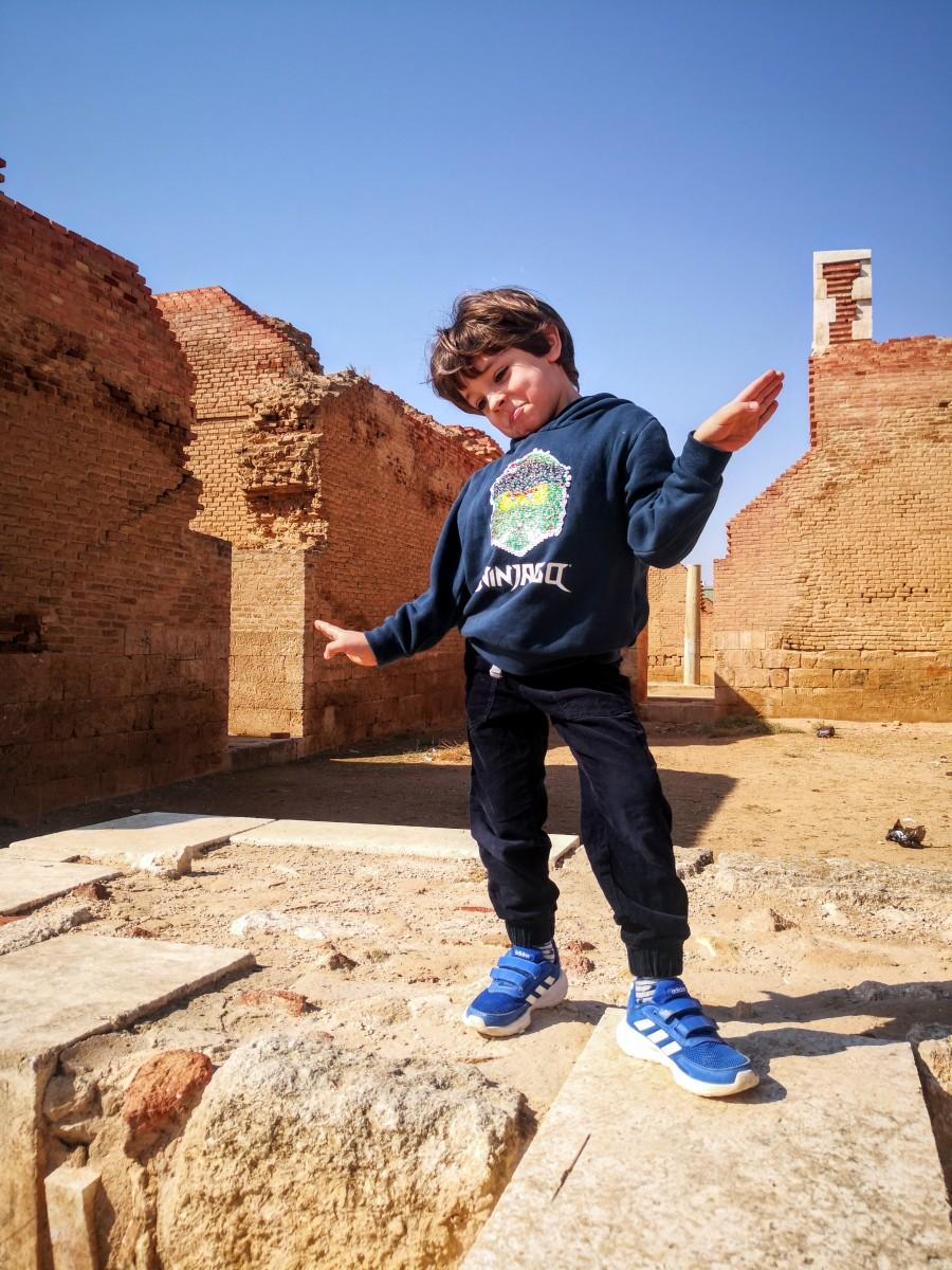 Titus at Qasr Al-Mushatta
