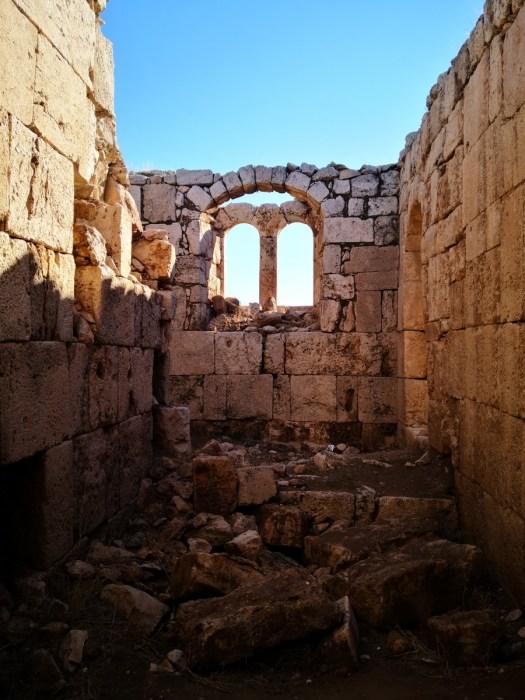 Qasr al-Qastal Windows