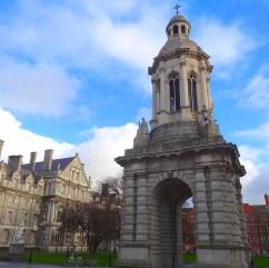 Inside Trinity College