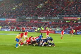 get your bum in the scrum