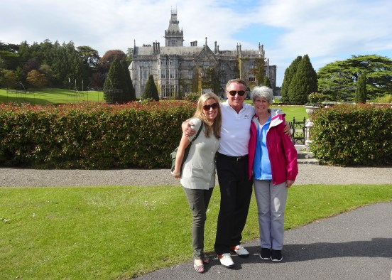 Adare Manor with Michael Flatley of Riverdance