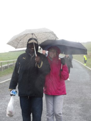 yes, it rains in Ireland