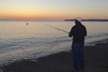 fishing on Whidbey