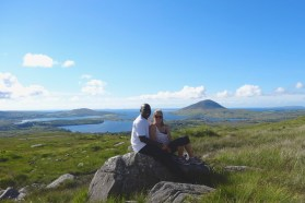 Hiking in the Connemara National Park
