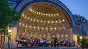 Pavillion concert