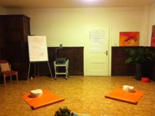 In diesem gemütlichen Raum finden die Workshops statt