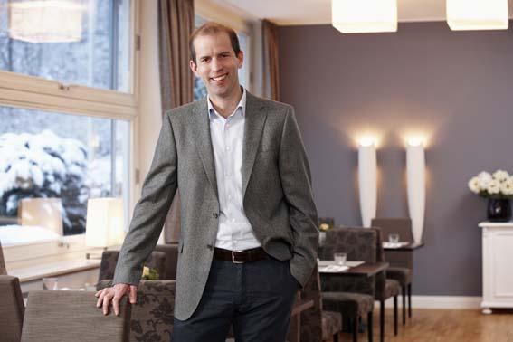 Hoteldirektor Sascha Luce