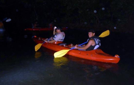 Kayaking fajardo