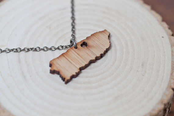 Island Pendant Necklace