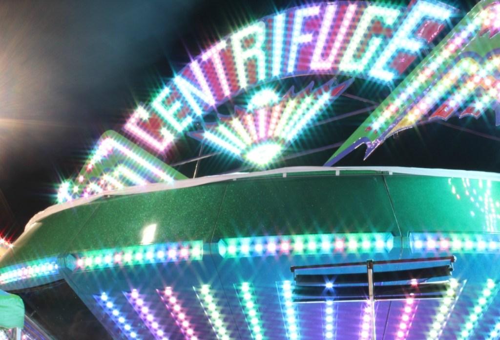 rainbow centrifuge ride at carnival