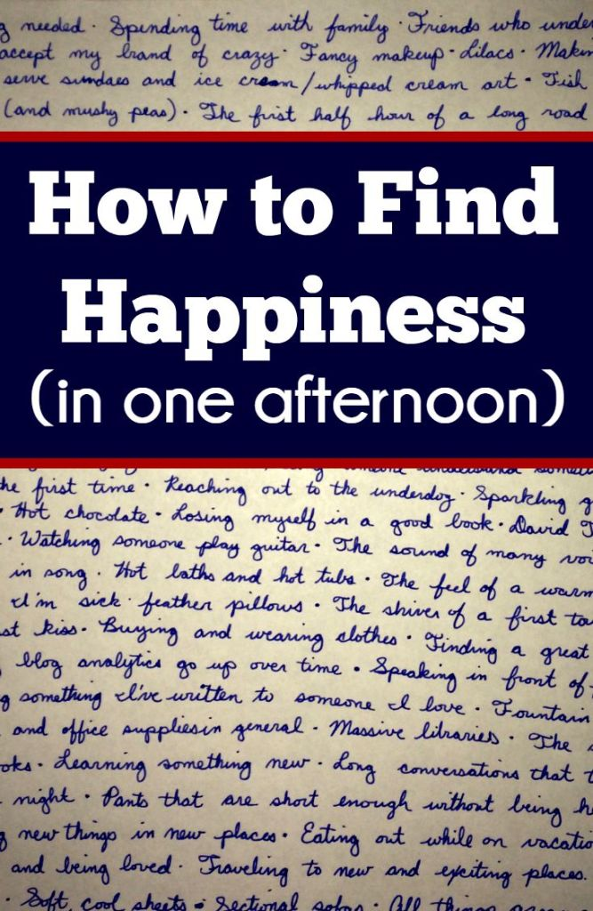 Finding Happiness | Inspiration | Quotes | Overcoming Depression | Create a list of your favorite things to make you happy when things are hard.