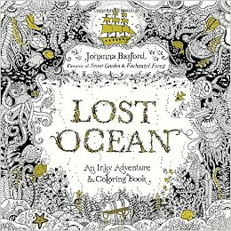 Lost Ocean Adult Coloring Book and Story