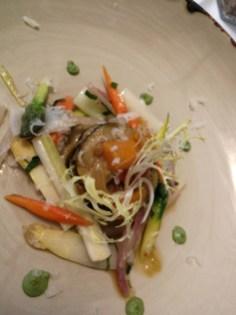Delicious starter of vegetables