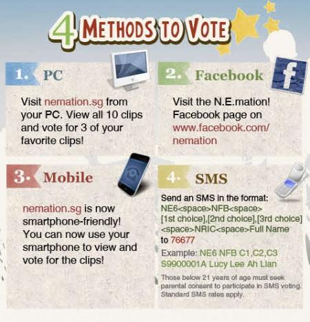 NE6 Methods To Vote