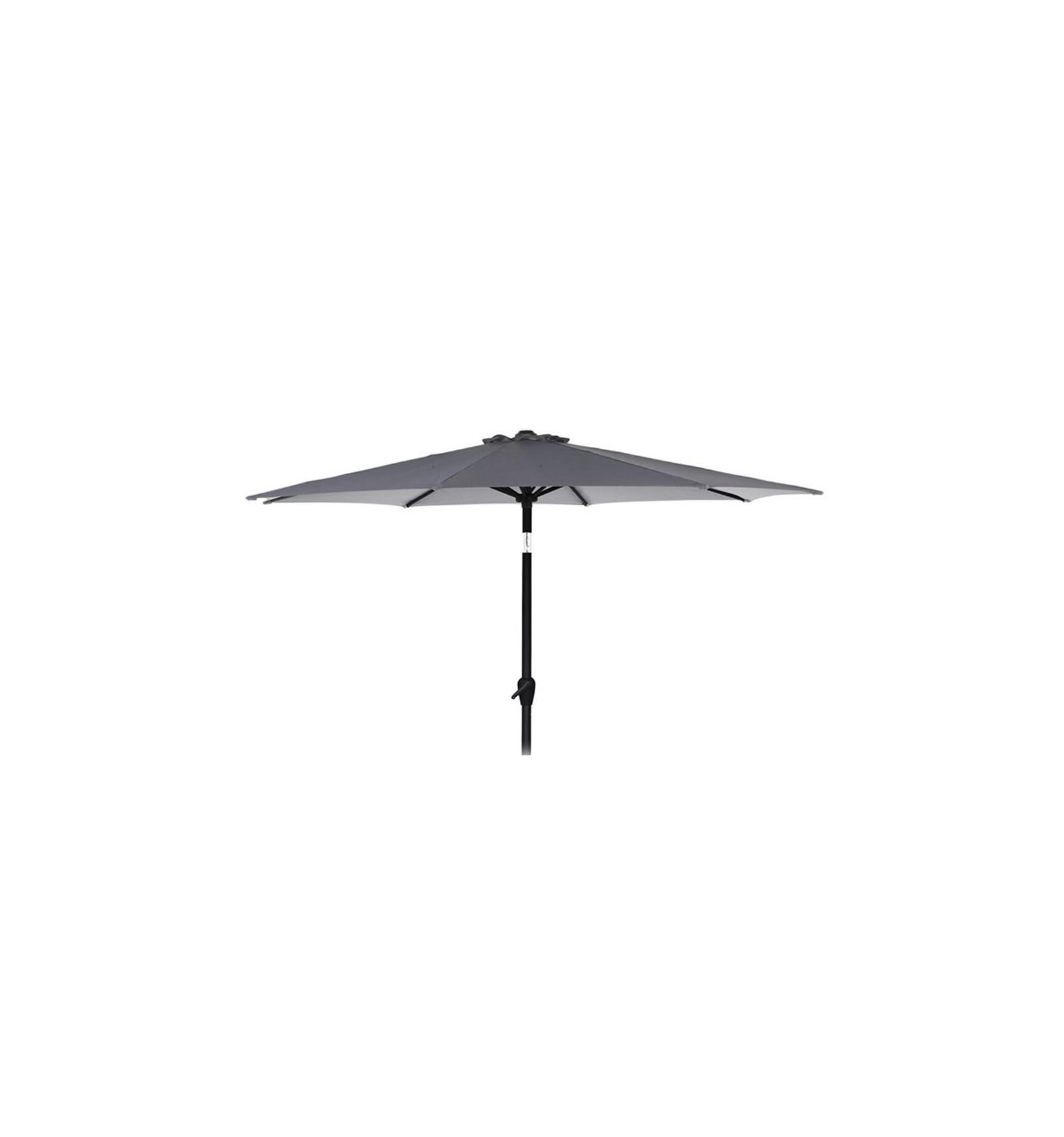 Alu Parasol M Tilt O 3 Meter Gra Living In Style