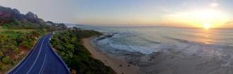 Sunrise over Lorne