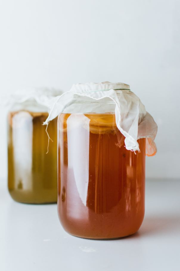 Kombucha Jars. Photo - Klara Avsenik
