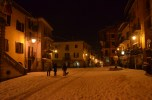 Limone Piemonte main square snow