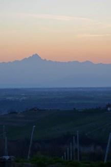 Sunset Monviso, Novello, Langhe, Piemonte