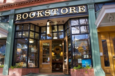 The Boulder Bookstore located on the West end of the Pearl Street Mall Nov. 11, 2008. (CU Independent file/ Sam Hall)