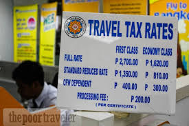 What is Philippine Travel Tax?