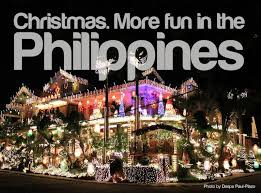 Filipinos enjoy decorating their homes not only with star lanterns but also with all sorts of Christmas decors. Brightly colored buntings or streamers are hung inside and out.