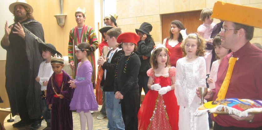 Purim for brochure