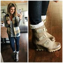 Socks to Wear with Sorel Joan of Arctic Wedge Boots My