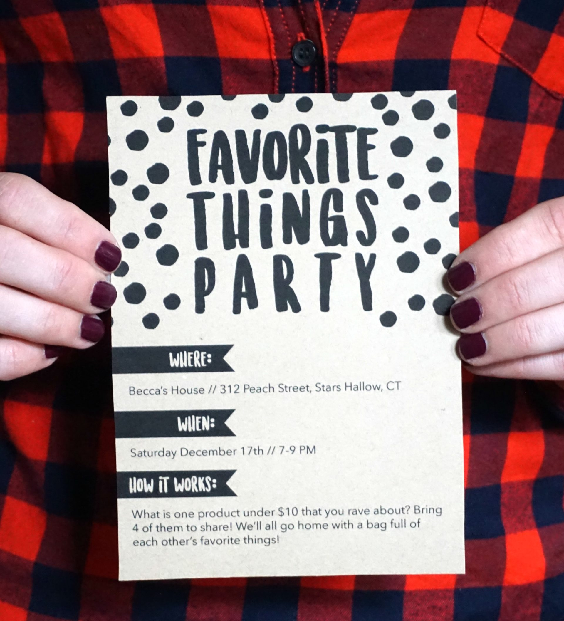 How To Throw A Favorite Things Party Living In Yellow