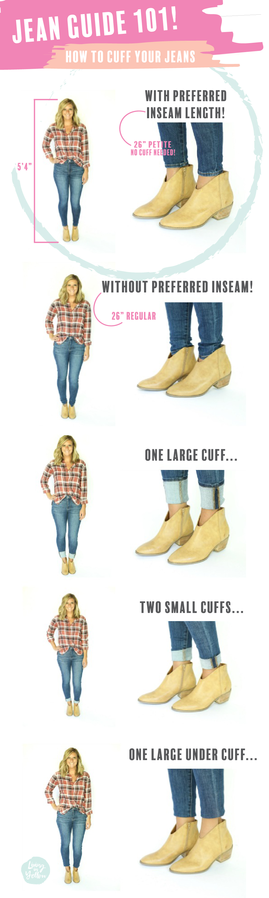 American Eagle Shorts Size Chart : american, eagle, shorts, chart, Ultimate, Guide, Skinny, Jeans, Living, Yellow